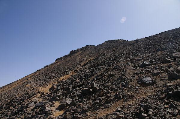 La crête Ouest du Toubkal