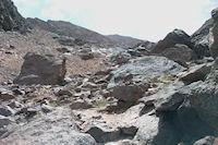 Une derniere photo du Toubkal avant de basculer vers le refuge