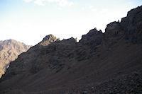 La crete Ouest du Toubkal