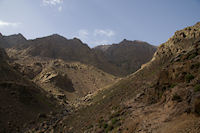 La vallee de l'Assif n Isougouane