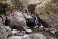 Une cascade sur l'Assif n Ait Mizane
