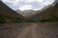 La vallee de l'Assif n Isougouane remontant vers Sidi Samharouch