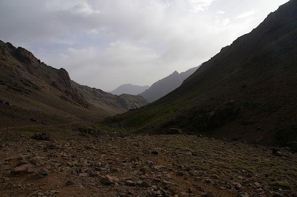 La vallée qui redecend vers Imlil