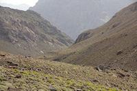 La vallee qui redecend vers Imlil