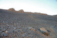 Belle crete calcaire