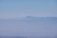 Le Mont Siroua depuis les cretes du M'Goun