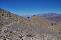 Le sentier au dessus du vallon d_Oulilimt