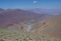 La vallee assechee d'Oulilimt
