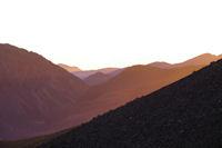 Le Canyon Arrous dans les premiers rayons du soleil