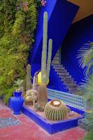L'entree de la maison de Yves Saint Laurent