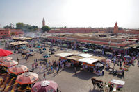 La place Jamaa el Fna