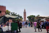 La Koutoubia depuis la place Jamaa el Fna