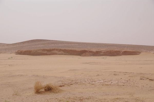 L_Oued el Atach en descendant vers l_Erg Smar