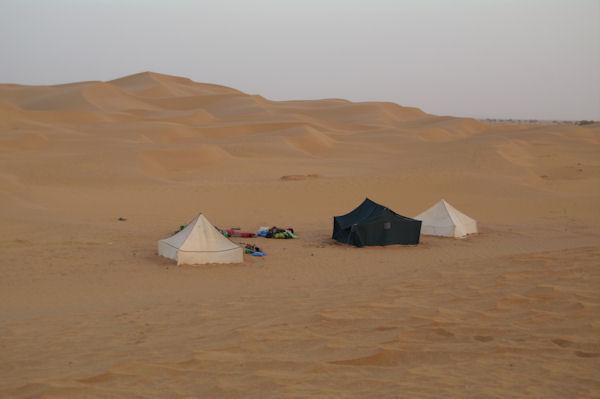 Notre campement à Bogarn