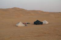 Notre campement a Bogarn