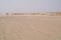 Les rives de l'Oued el Atach asseche