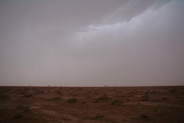 Sale temps dans le désert...