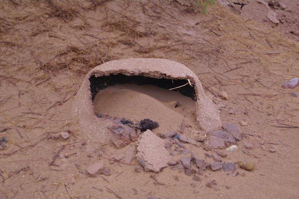 Un four à pain dans le sable