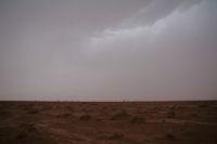 Sale temps dans le desert...