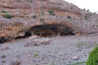 Un grotte au dessus de l'Assif Tafenfente