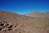 Campement de nomades sur le plateau de Tinoughrine