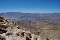 La vallée des Aït Bouguemez en vue depuis le Tizi n Aït Imi