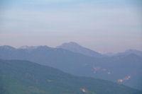 Le Pic de Cagire et son second, la Pique Poque