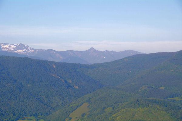 De gauche à droite, le Pic de Crabère, le Pic de l_Har, le Pic de Paumaude et le Pic de la Calabasse
