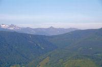 De gauche a droite, le Pic de Crabere, le Pic de l'Har, le Pic de Paumaude et le Pic de la Calabasse