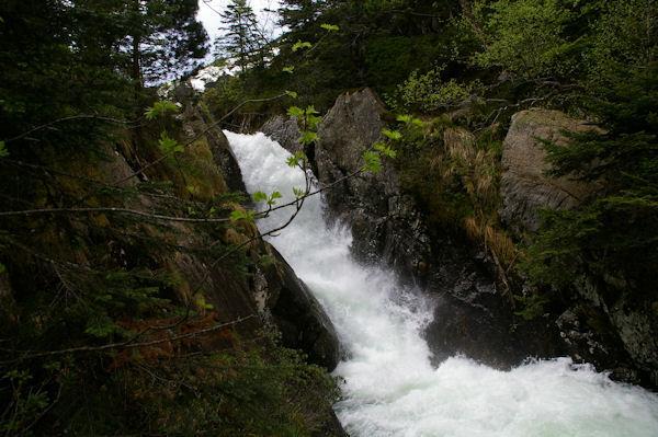 La partie supérieure des cascades d_Ars