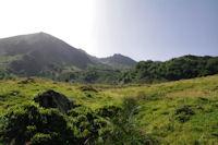 Le Mont Garias, le Pic de Cabanatous et Des Fouzes depuis Coumebiere
