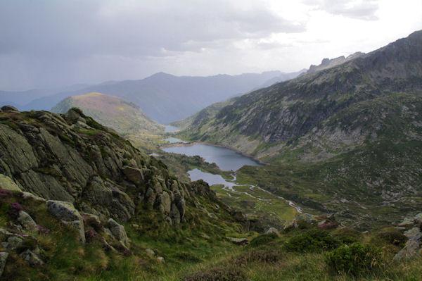 La vallée de Bassiès, la Pique d_Endron en face
