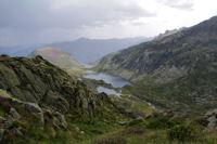 La vallee de Bassies, la Pique d'Endron en face