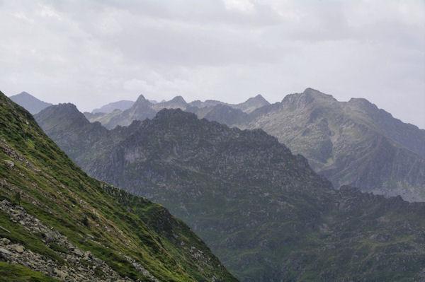 Les sommets au dessus des vallées du Garbet et de l_Ars