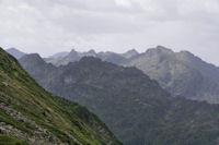 Les sommets au dessus des vallees du Garbet et de l'Ars