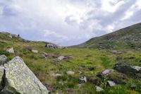 La partie superieure du vallon de la Coume