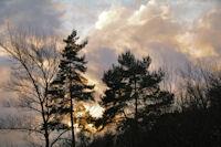 Coucher de soleil à Rabaute