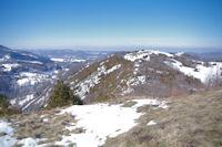 Le Col del Bouich depuis le Roc de Caralp