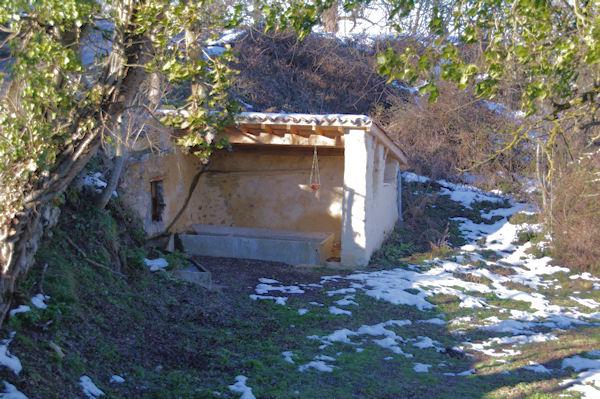 Un lavoir à Lizonne