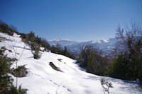 Montee au dessus du Col del Bouich