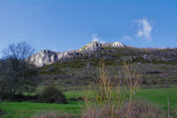 Le Pic de l'Aspre, la Tute et les Cantarels