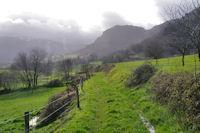 Joli chemin entre Soula et Caraybat