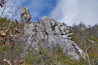 Aiguilles sous le Roc de Cos
