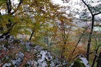 Belles couleurs d'automne sur les cretes de Soula de Bensa