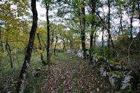 Le chemin vers l'Oustalet