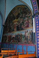 Fresque dans l_église de Lavelanet