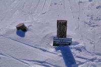 Une idée des hauteur de neige!