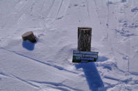Une idee des hauteur de neige!