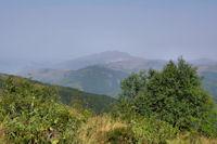 Au loin, le Pic de St Barthelemy et le Pic de Soularac