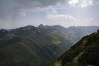 Pic de Balbonne, Pic de la Camisette, Roc Blanc, Pic de Baxouillade, Pic des Recantous, Puig de Terrers et Pic des Mortiers
